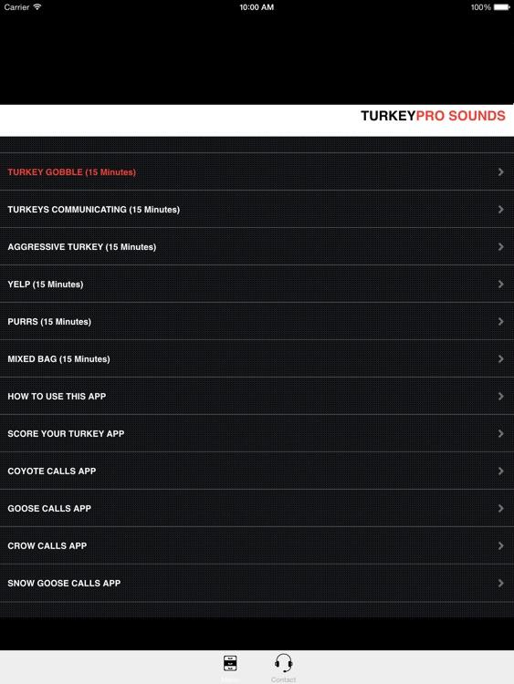 Turkey Calls - Turkey Sounds -Turkey Caller App HD screenshot-0