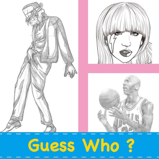 Guess The Person Plus Free - Let's Discover Coloring People Photo iOS App