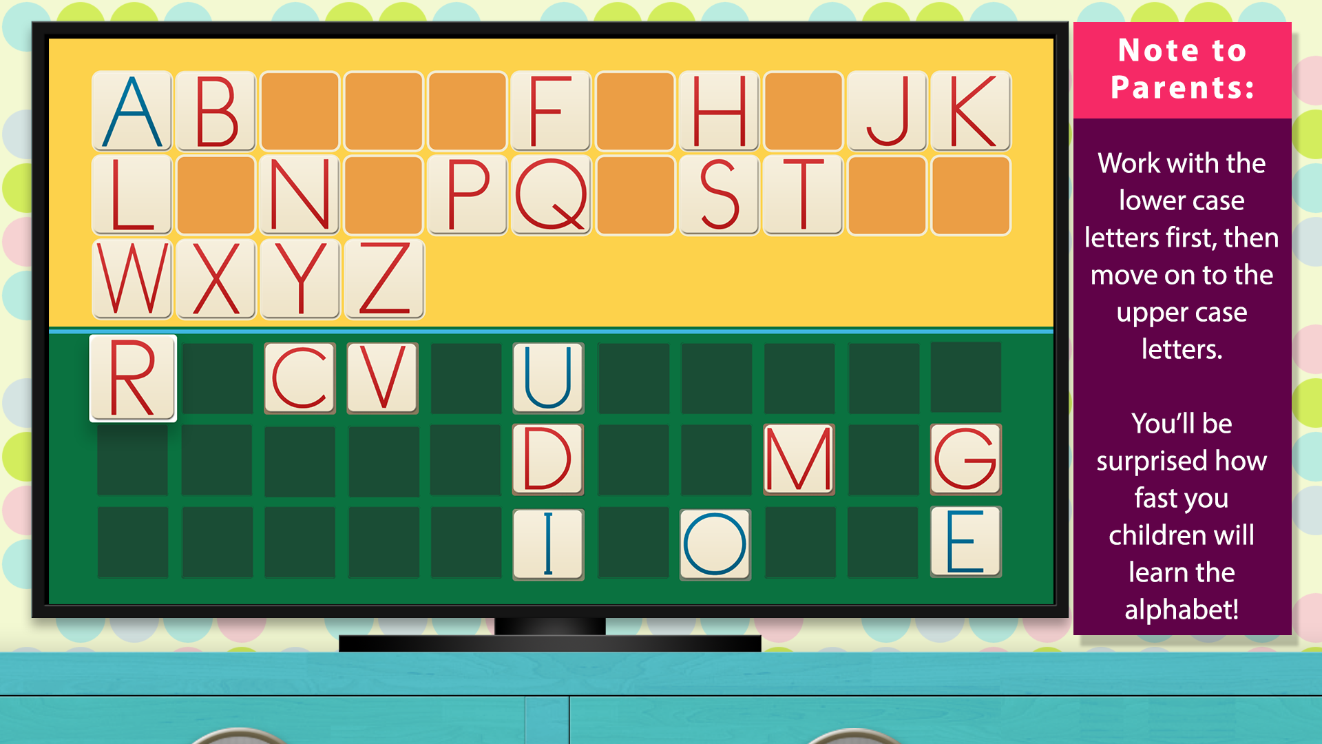 The Alphabet - Language by Mobile Montessori screenshot 5