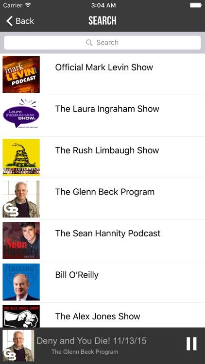 Conservative Talks Radio - Top Shows screenshot-3