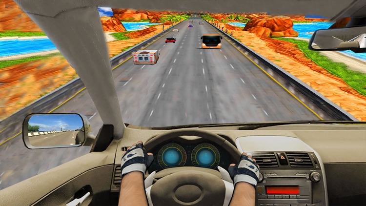 Race In Car 3D : Most wanted Speed Racing Game screenshot-3