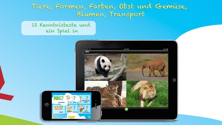 ABC Für Kinder: Learn German - letters and words