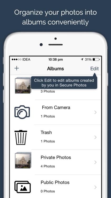 Secure Photos - Private vault to keep your photos safe screenshot-4
