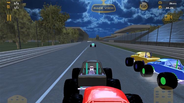 Monster Truck Race - 3D screenshot-3