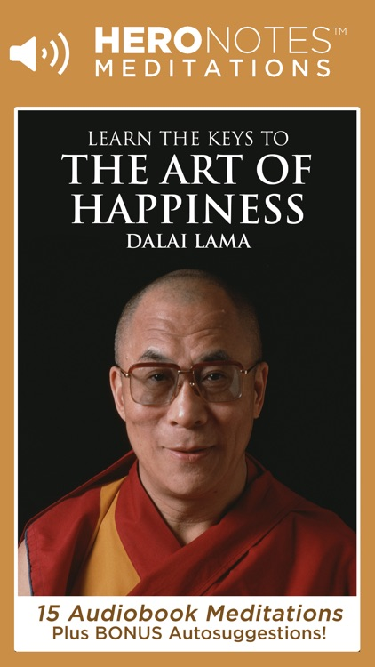 The Art of Happiness: A Meditation Audiobook On Buddhism By His Holiness The Dalai Lama screenshot-0