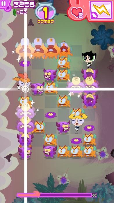 フリップアウト! – パワーパフ ガールズのパズル&バトルアクションゲームのおすすめ画像5