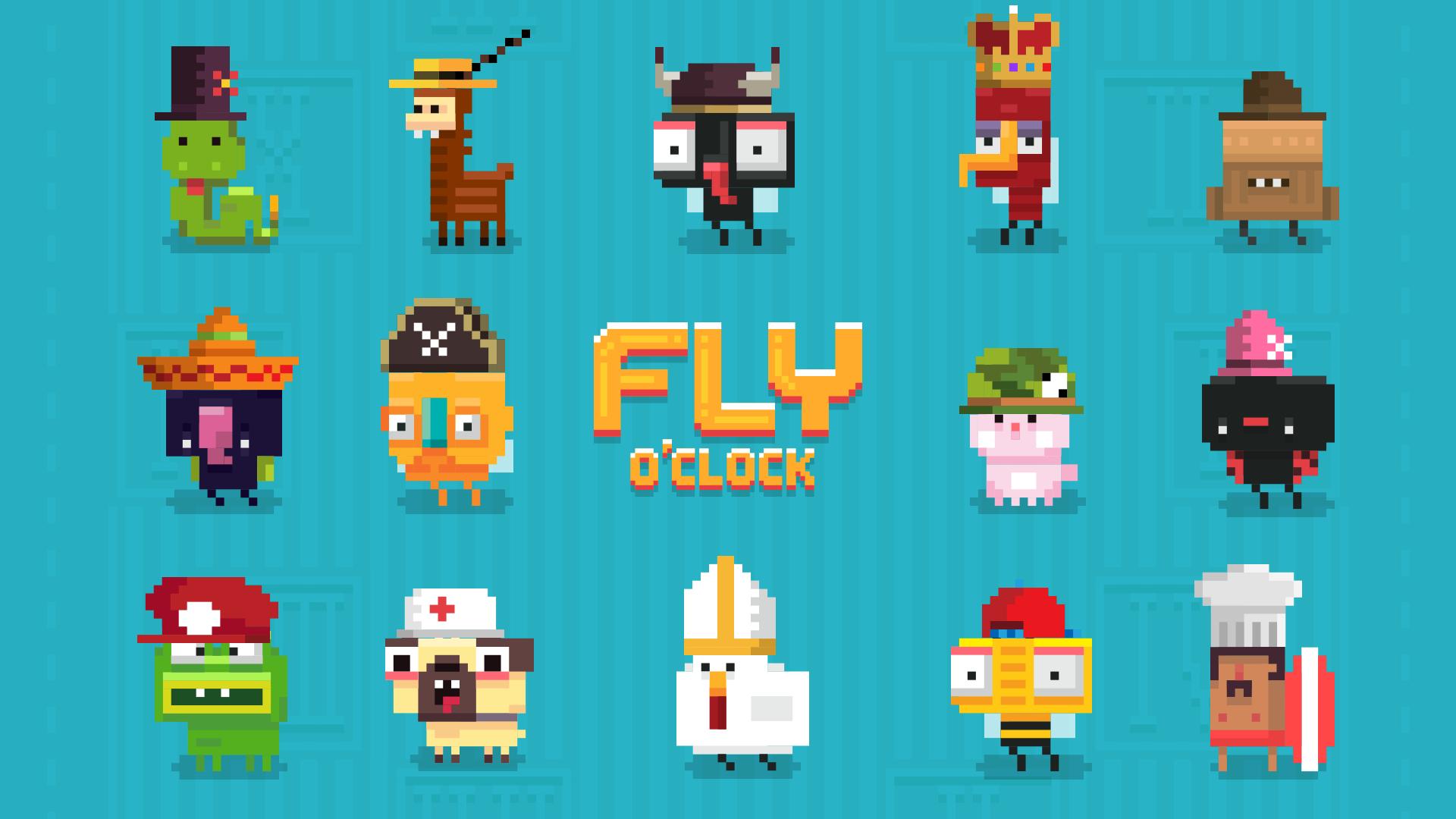 Fly O'Clock - Endless Jumper Survival screenshot 10