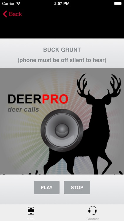 Deer Calls & Deer Sounds for Deer Hunting - BLUETOOTH COMPATIBLE