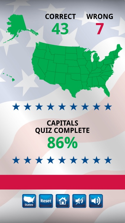 US States and Capitals Quiz : Learning Center screenshot-4