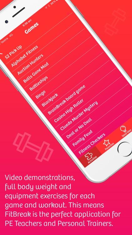 FitBreak screenshot-3