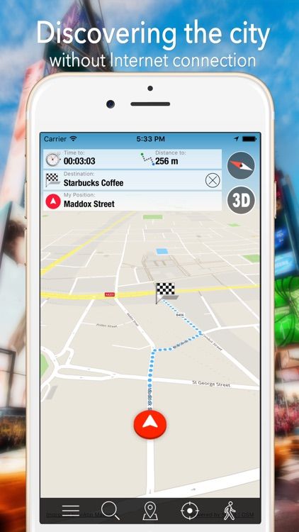 San Diego Offline Map Navigator and Guide