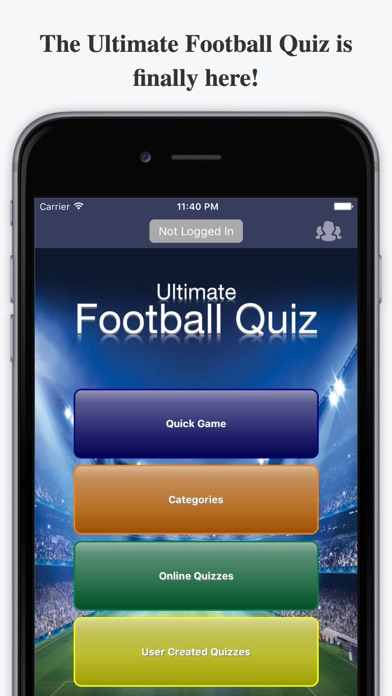 Ultimate Football Quiz - For Premier League & more screenshot one