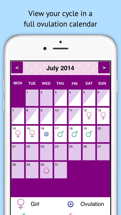 Baby Today? Fertility Tracker & Ovulation Calendar