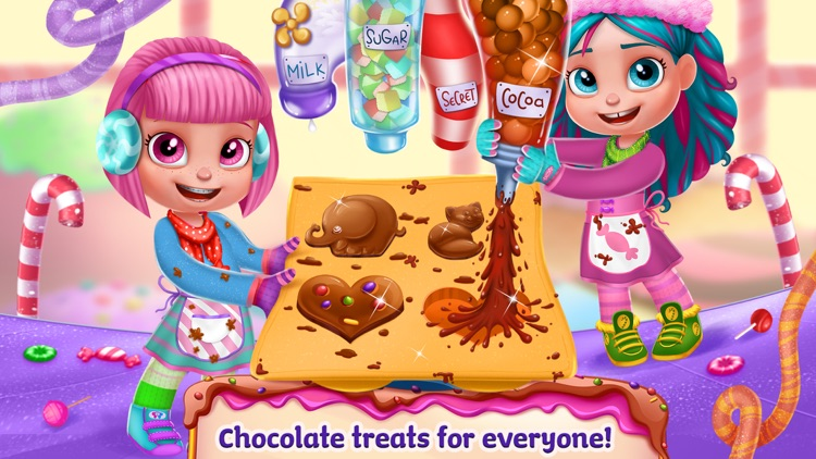 Chocolate Candy Party - Fudge Madness screenshot-4