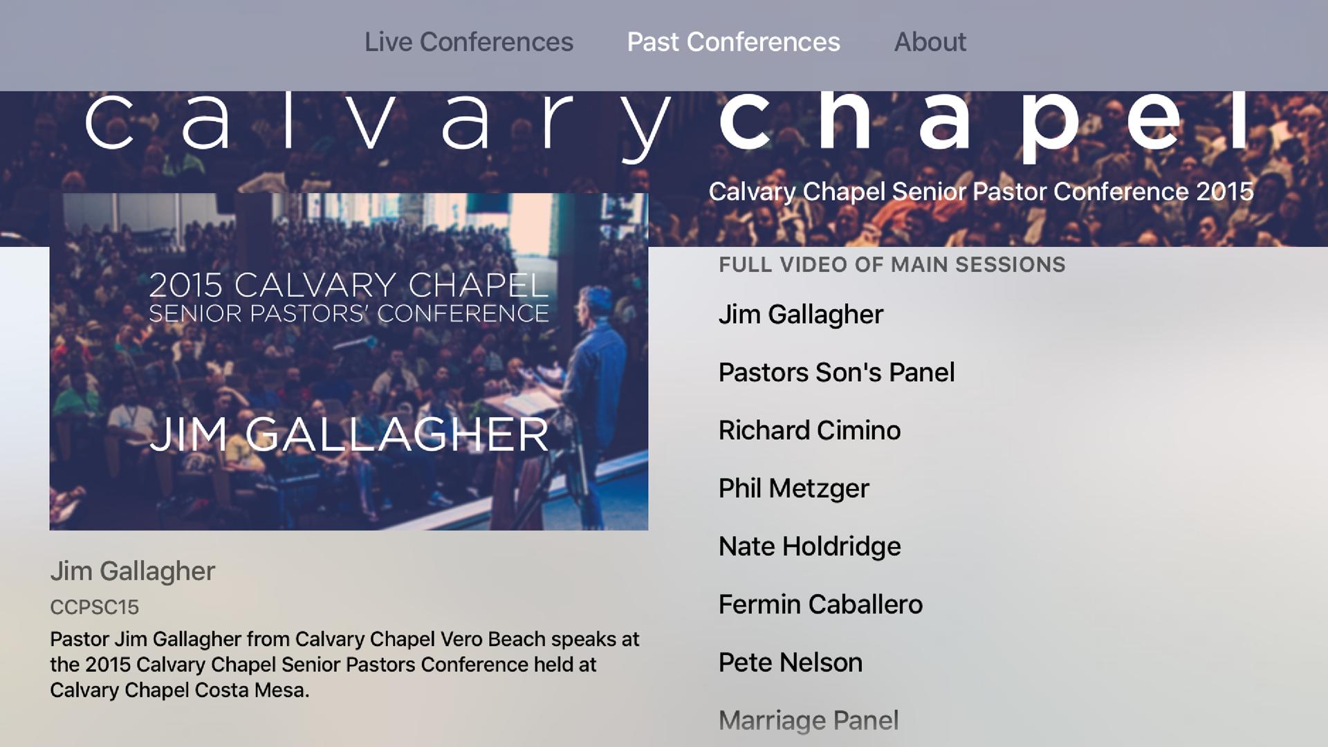 CalvaryTV screenshot 1