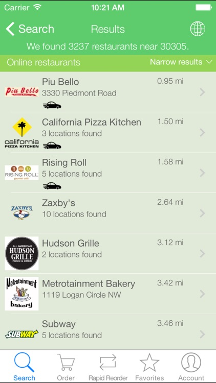 Snapfinger - Food Ordering screenshot-2
