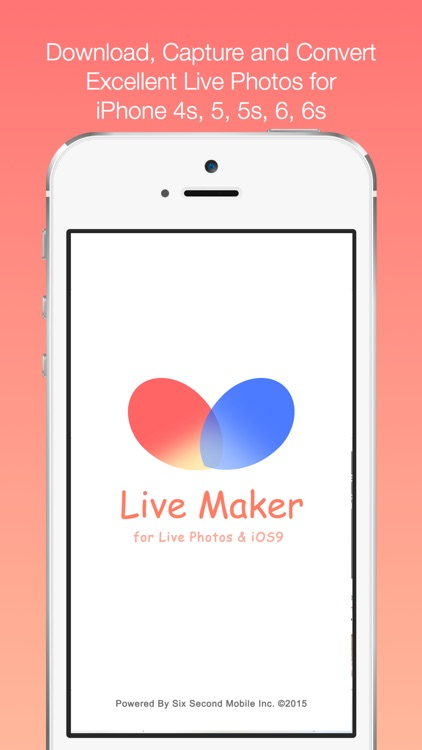 LiveMaker - for Live Photos and iOS 9