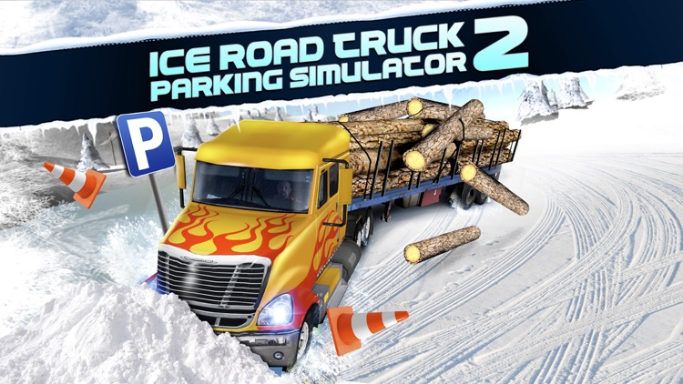 Ice Road Trucker Parking Simulator 2 a Real Monster Truck Car Park Racing Game