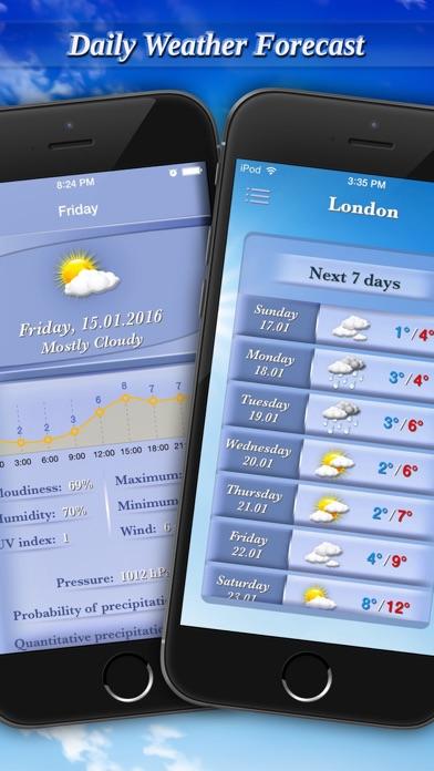 Weather Professional Forecastのおすすめ画像3