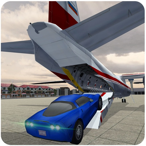 Airplane Pilot Car Transporter Games