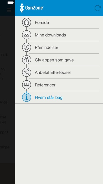 Screenshot for Efterfødsel in Denmark App Store