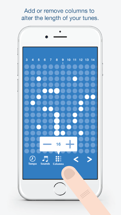 Screen Shot Tones - Fun and easy to use music creation app 3