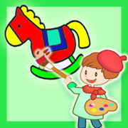 让儿童着迷的涂色应用 - 让您的孩子爱上绘画的填色游戏 - 3-5岁早教启蒙必备