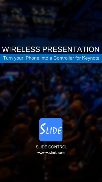 Slide Control Pro:Remote Controller for Keynote screenshot-3