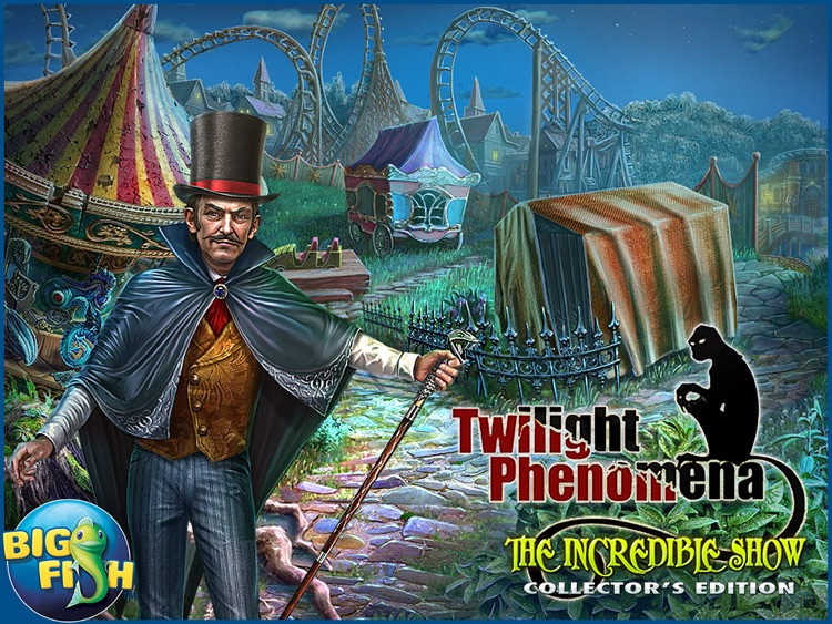 Twilight Phenomena: The Incredible Show HD - A Magical Hidden Object Game screenshot-4