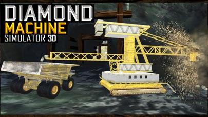 Diamond Mine excavator 3D : Construction Quarry Haul Truck