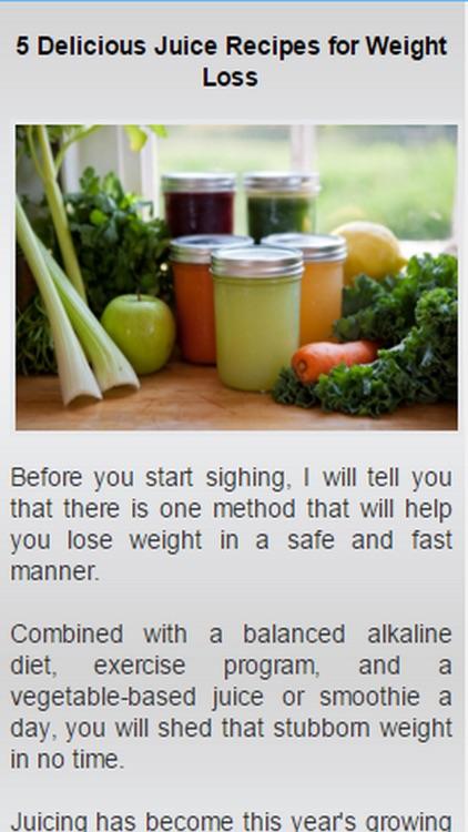 Healthy Juice Recipes.