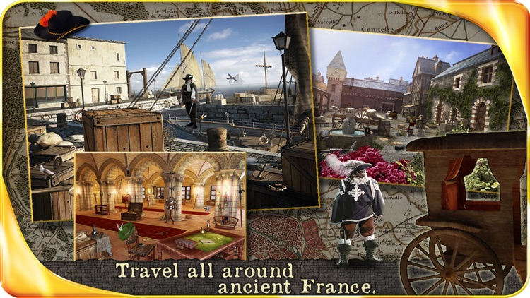 The Three Musketeers - Extended Edition - A Hidden Object Adventure screenshot-3