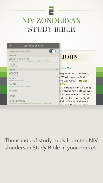 NIV Zondervan Study Bible screenshot-1