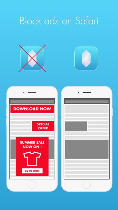 Screenshot for Crystal Adblock - 광고없는 웹 브라우징. 지금 광고를 차단하세요! in Korea App Store