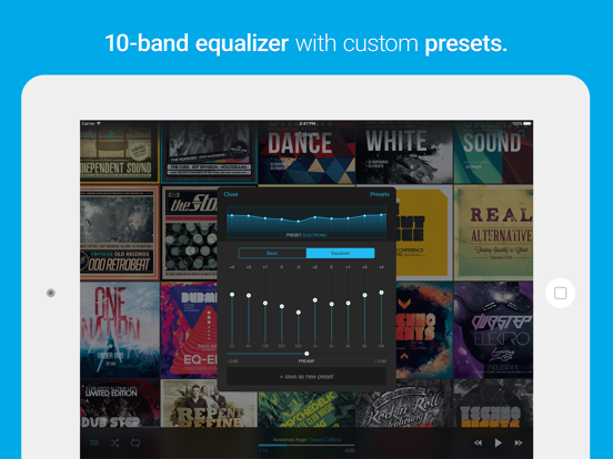 n7player Music Player with 10-band Equalizer screenshot
