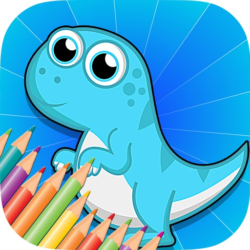 Baby Dinosaur Coloring Book Free Printable Pages Quiet Game For Kids