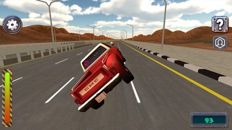 ملك الترفيع Side Wheel Hero screenshot-0