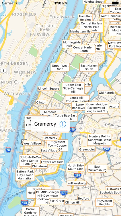 Tourist Map Of New York.Nyc Tourist Map Travel Map For New York City By Techkinesis Inc
