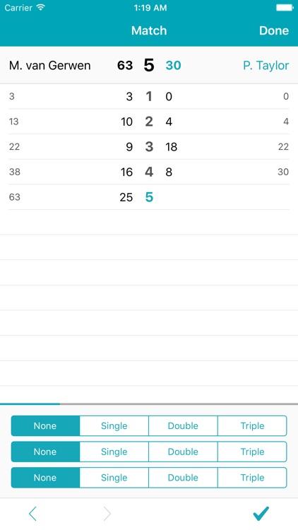 Shanghai Darts Scorer