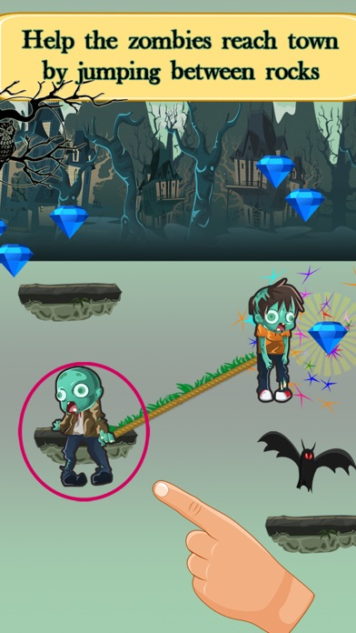 Zombie Challenge Run Game with Zombies: Fun for Early Grades and Kindergarten Kids screenshot four