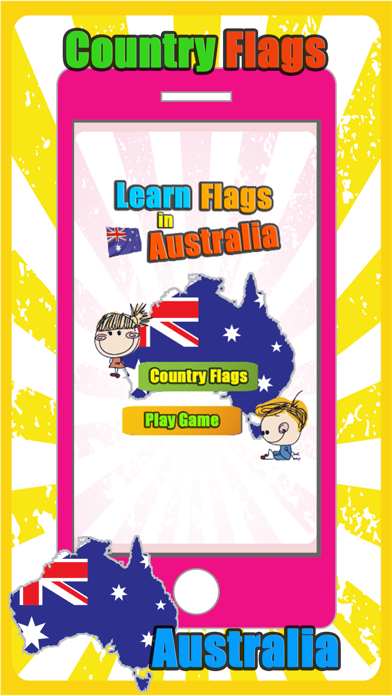 Australia Regions Country And Territory Flag Games