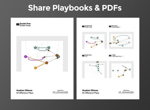 Screenshot #6 pour Basketball Playmaker Playbook