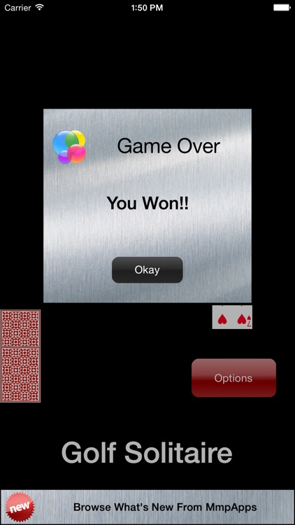 Golf Solitaire - Classic screenshot-4