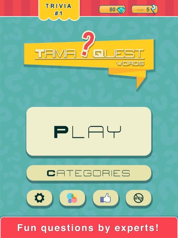 Trivia Quest™ Words - trivia questions | App Price Drops