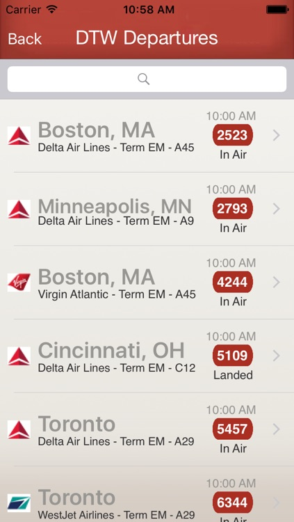 Flighty - Live Flight Arrival & Departure Status & Times screenshot-1