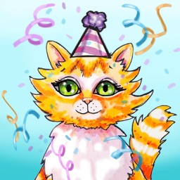 Cat Hat Party - Animated Book App for Children