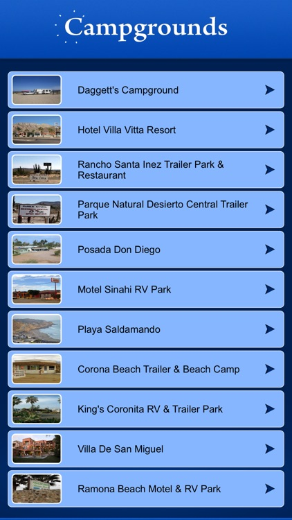 Mexico Campgrounds and RV Parks screenshot-1