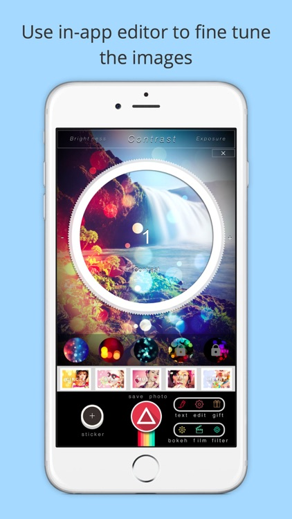 Pic Effects Editor - Pictures/Photos Funny Creator for Path,SnapChat,Tumblr,Kik,Flickr&Tango Free screenshot-3