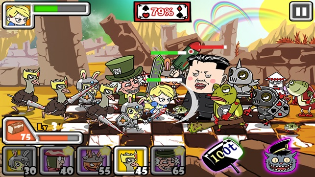 Bloody Alice Defense, game for IOS