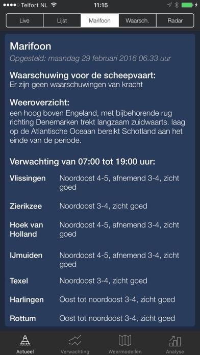 Sea Weather - Maritime app, forecasts, warnings Screenshot 3